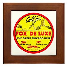 Fox Deluxe-1940 Framed Tile