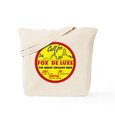 Fox Deluxe-1940 Tote Bag