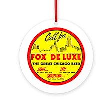 Fox Deluxe-1940 Ornament (Round)