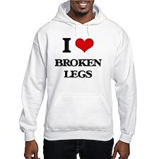 broken legs Hoodie