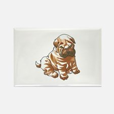 SHAR PEI PUPPY Magnets