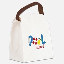 Pool Time Canvas Lunch Bag