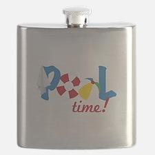 Pool Time Flask