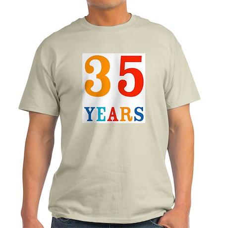 35 Years! Light T-Shirt