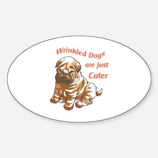 WRINKLED DOGS Decal