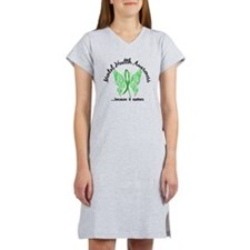 Mental Health Butterfly 6.1 Women's Nightshirt