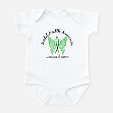 Mental Health Butterfly 6.1 Infant Bodysuit