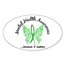 Mental Health Butterfly 6.1 Decal