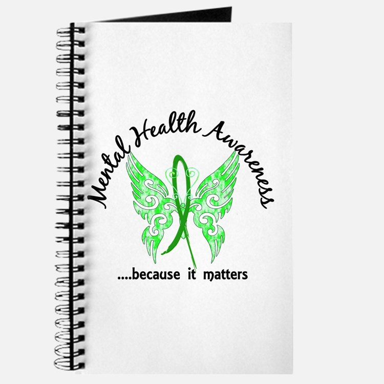 Mental Health Butterfly 6.1 Journal