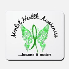 Mental Health Butterfly 6.1 Mousepad