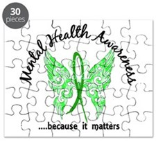Mental Health Butterfly 6.1 Puzzle