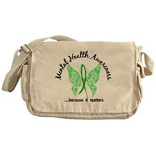 Mental Health Butterfly 6.1 Messenger Bag