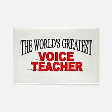 """""""The World's Greatest Voice Teacher"""" Rectangle Mag"""