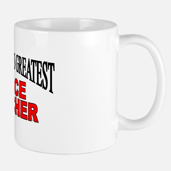 """The World's Greatest Voice Teacher"" Mug"