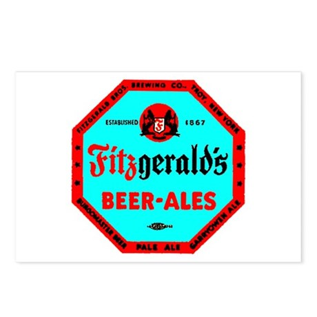 Fitzgerald's Beer-1942 Postcards (Package of 8)
