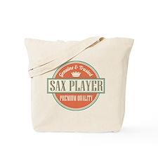 Saxophone Player Music Tote Bag