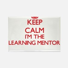 Keep calm I'm the Learning Mentor Magnets