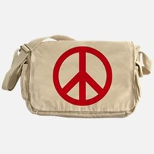 Unique Peace symbol Messenger Bag