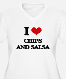 chips and salsa Plus Size T-Shirt
