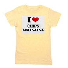 chips and salsa Girl's Tee