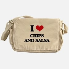 chips and salsa Messenger Bag