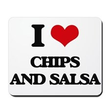 chips and salsa Mousepad