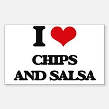 chips and salsa Decal