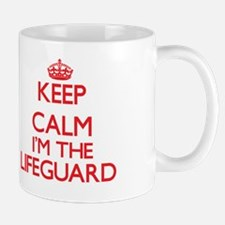 Keep calm I'm the Lifeguard Mug