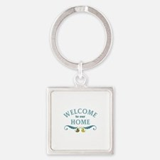 Welcome to Our Home Keychains
