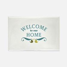 Welcome to Our Home Magnets