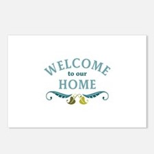Welcome to Our Home Postcards (Package of 8)