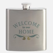 Welcome to Our Home Flask