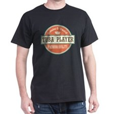 tuba player Dark T-Shirt