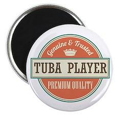 tuba player Magnet