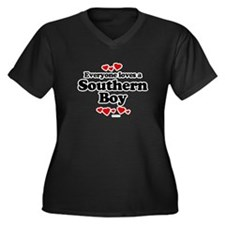 Everyone loves a southern boy Women's Plus Size V-