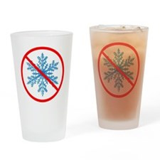 no snow Drinking Glass