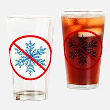 no snow Drinking Glass