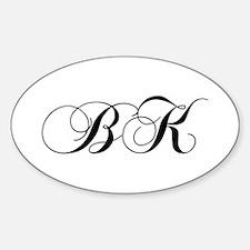 BK-cho black Decal