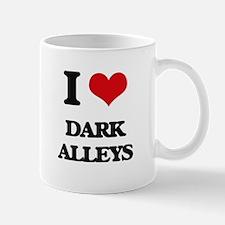 dark alleys Mugs