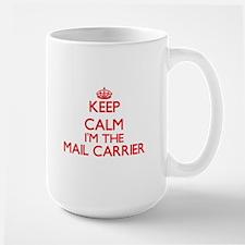 Keep calm I'm the Mail Carrier Mugs