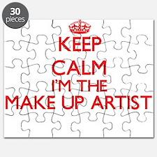 Keep calm I'm the Make Up Artist Puzzle