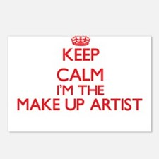Keep calm I'm the Make Up Postcards (Package of 8)