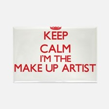 Keep calm I'm the Make Up Artist Magnets