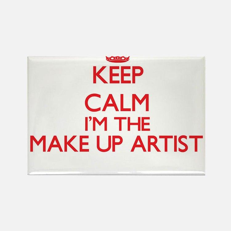 Keep calm I'm the Make Up Artist Magnets