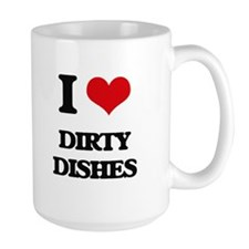 dirty dishes Mugs