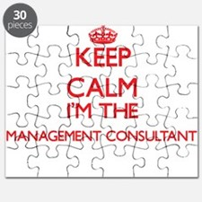 Keep calm I'm the Management Consultant Puzzle