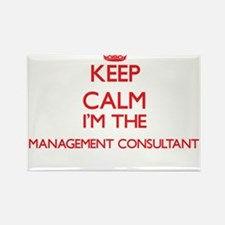 Keep calm I'm the Management Consultant Magnets