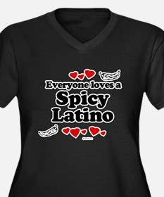 Everyone loves a spicy latino Women's Plus Size V-