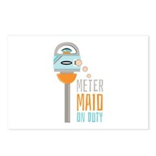 Maid On Duty Postcards (Package of 8)