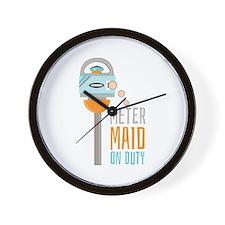 Maid On Duty Wall Clock